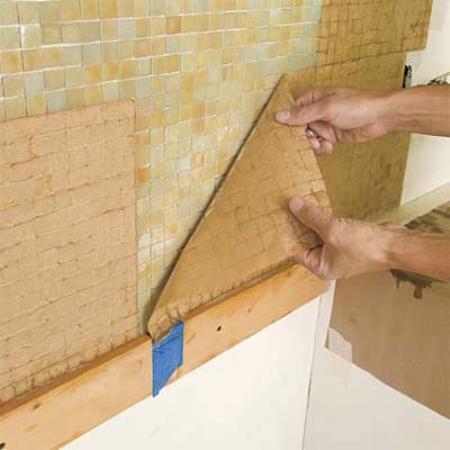 кафельная мозаика для ванной