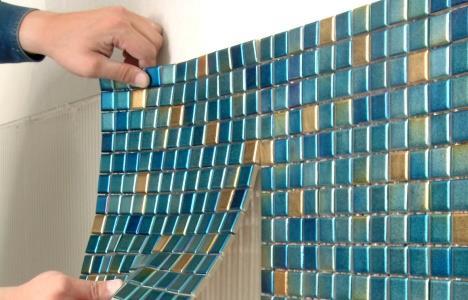 мозаика растяжка для ванной