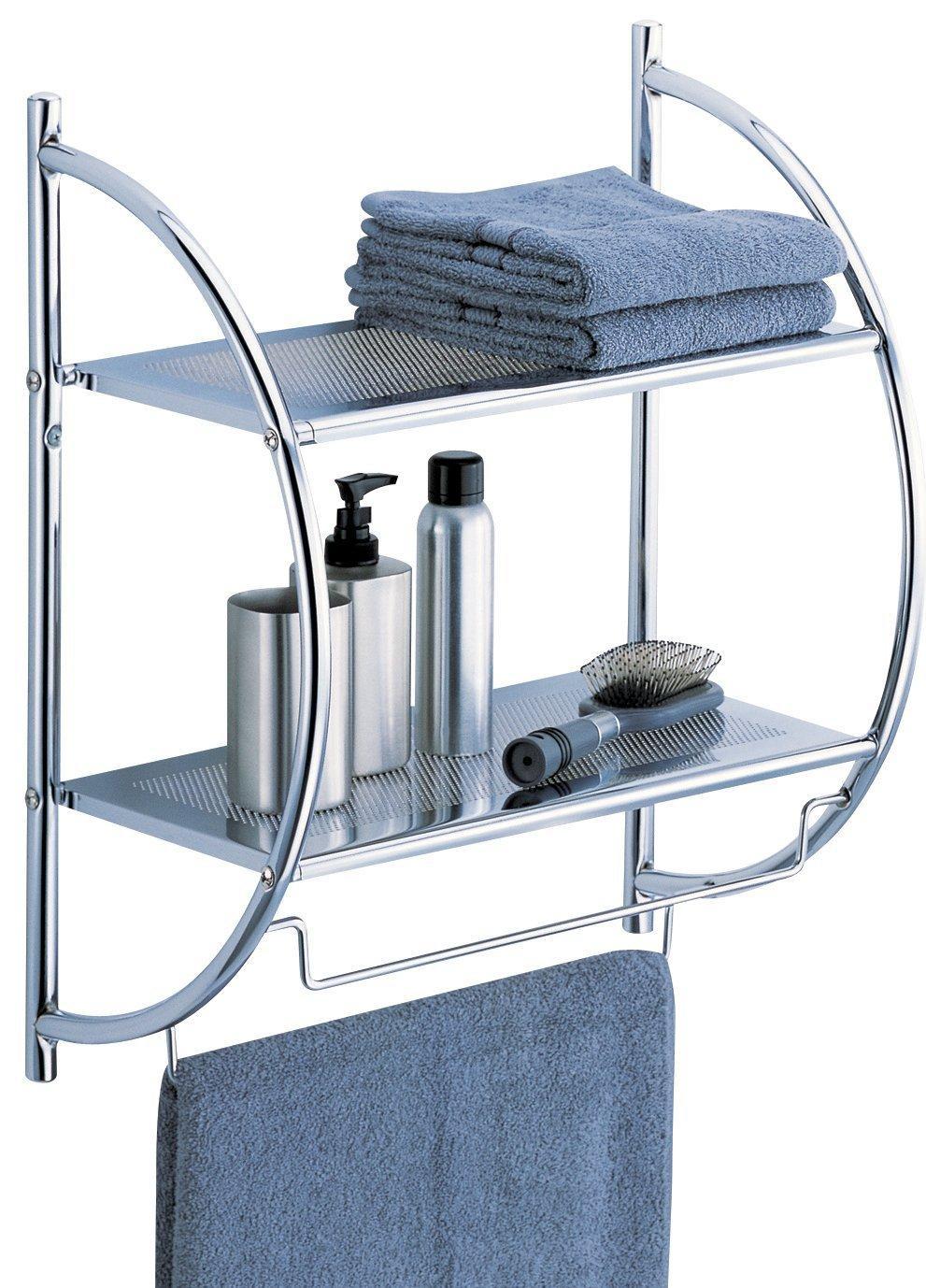 Нержавеющие полки для ванной выбираем конфигурацию и