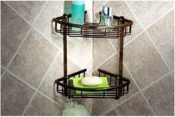 полочка для ванной угловая