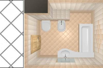 сколько нужно плитки для ванной