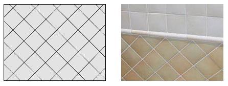 способы укладки плитки в ванную