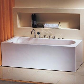 стальная ванна emalia