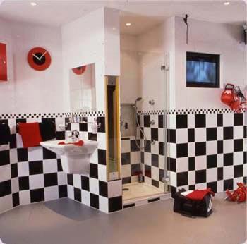 толщина плитки в ванной