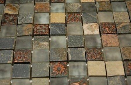 ванна обложенная мозаикой